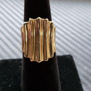 14kt Yellow Gold Custom ring 8.3gms